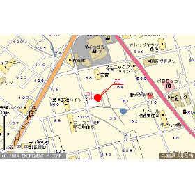 【地図】ハイツカレント