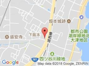 【地図】リトルマーシュ A棟