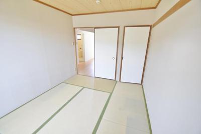 【寝室】岡澤ハイツ