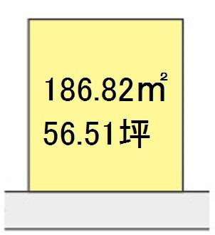 【区画図】【売地】箕島中学校区・120681