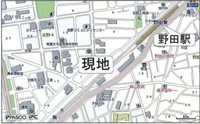 【地図】ラクシア野田