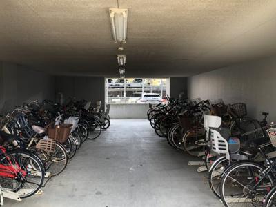 自転車置き場完備☆