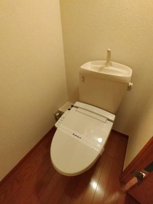 【トイレ】レオパレスカラコレス