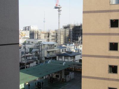 バルコニーからの眺望です エルアルカサルフジ