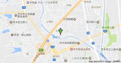 【地図】メゾン小夢