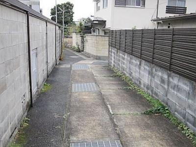 【前面道路含む現地写真】松ヶ崎東町 中古戸建