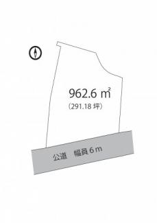 【土地図】館山市浜田 売地