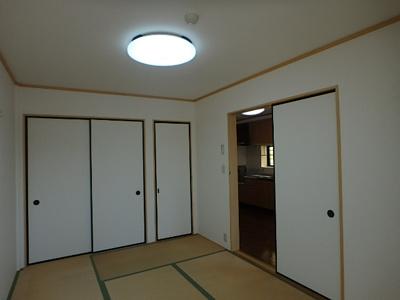 【寝室】甲子園マンション2