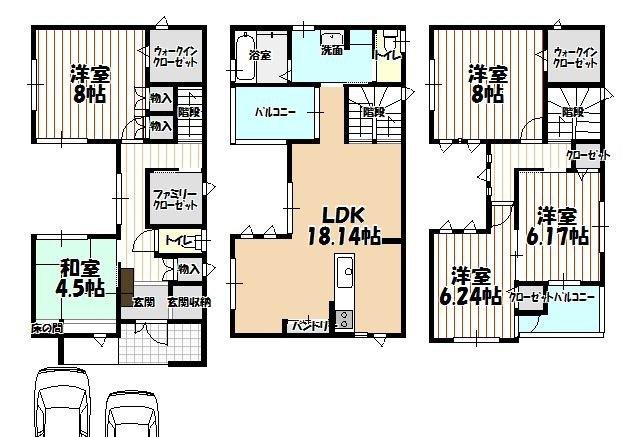 堺市西区浜寺船尾町西 新築一戸建て住宅