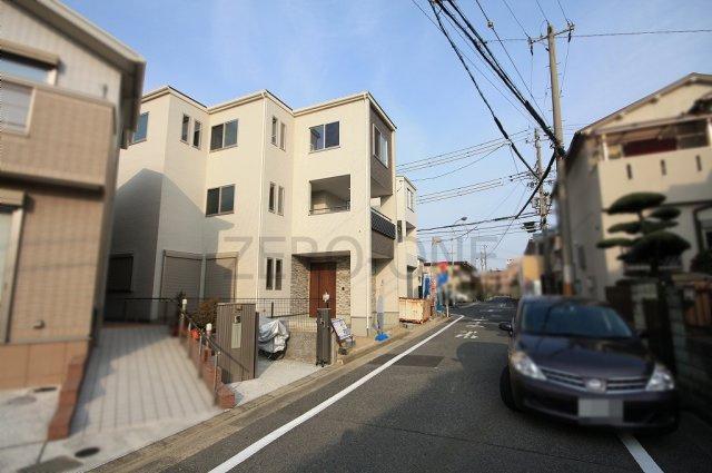 【前面道路含む現地写真】堺市西区浜寺船尾町西 新築一戸建て住宅