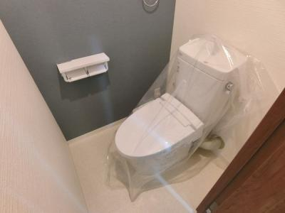 【トイレ】香枦園スカイハイツ