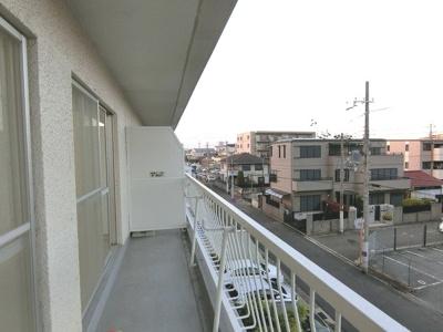 【バルコニー】香枦園スカイハイツ