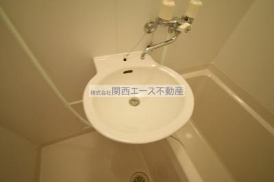 【洗面所】レオパレスフローリッシュⅡ
