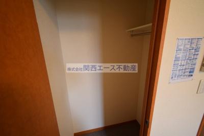 【収納】レオパレスフローリッシュⅡ