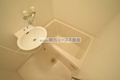 【浴室】レオパレスフローリッシュⅡ