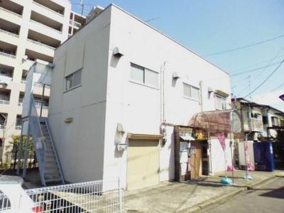 横浜線・グリーンライン「中山」駅より徒歩圏内!2沿線利用可能で便利な立地の2階建て店舗・事務所です♪