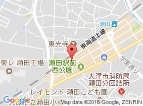 【地図】大萱1店舗