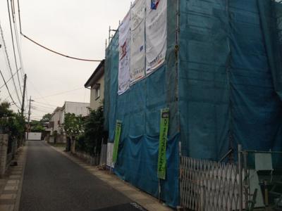 【前面道路含む現地写真】デザイナーズ住宅さいたま市西区清河寺