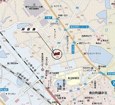 【地図】石田店舗
