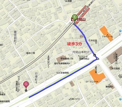 【地図】ブランピュール