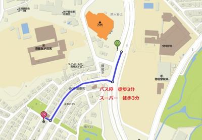 【地図】パールエッグクノキ