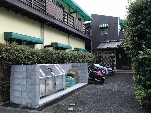 駐輪場【コートビレッジ桜ヶ丘PartIIレジデンス】