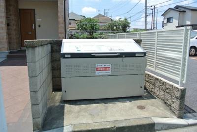 敷地内に駐輪場を完備しています!自転車があれば通勤・通学、お買い物にも便利です♪