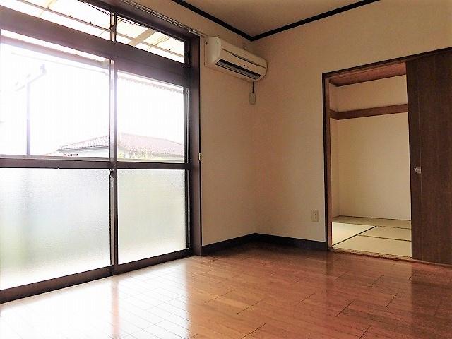 【居間・リビング】みどりマンション