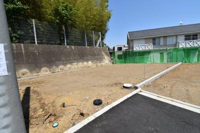 【外観】藤沢市大庭 建築条件なし売地3区画