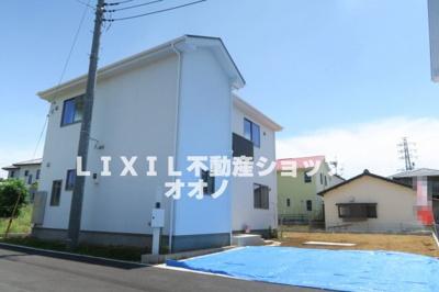 【外観】久喜市西大輪 新築分譲住宅全3棟 2号棟