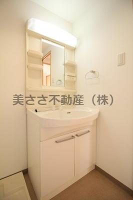 【独立洗面台】トレセリア暁町
