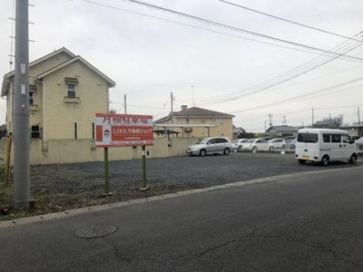 【外観】足利市朝倉町 月極駐車場