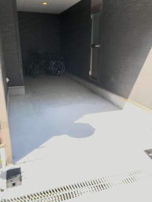 【駐車場】福島8丁目 一戸建貸家