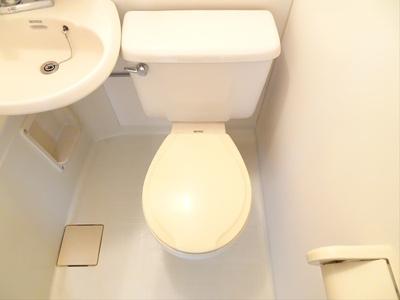 【トイレ】シェモア松原