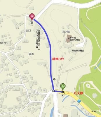 【地図】フレール奥須磨