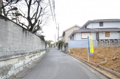 【前面道路含む現地写真】堺市西区北条町 土地