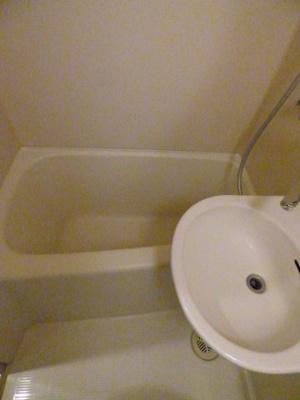 日々の暮らしに欠かせないお風呂です※写真は203号室になります