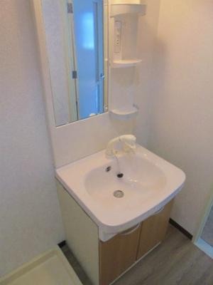温水シャワー洗面化粧台