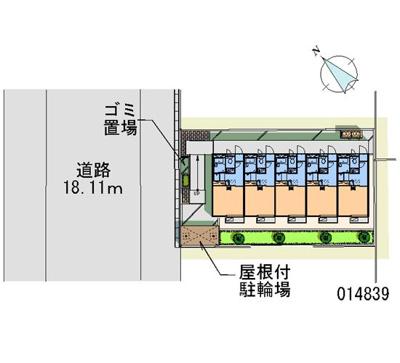 【区画図】サンシャイン福栄