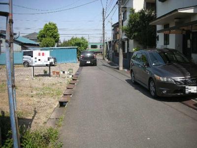 【前面道路含む現地写真】熊谷市石原 400万 土地