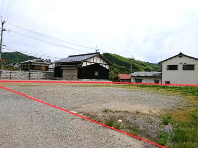 【前面道路含む現地写真】丹波篠山市瀬利 住宅用地