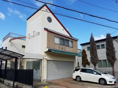 1階:店舗・事務所スペース、2階:住居
