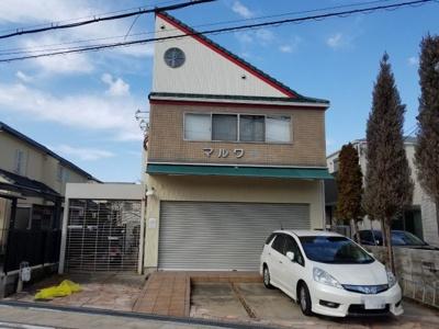 【外観】堺市西区上野芝町 住宅付店舗