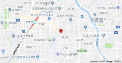 【地図】ヴィオレッタコート