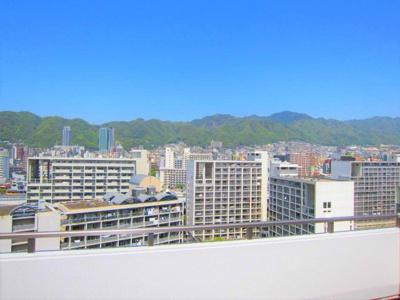 【眺望】 最上階のため、眺望良好です!!