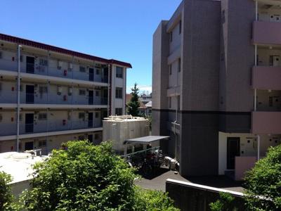 2階部分からの眺望♪