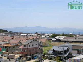 淡路島一望です。