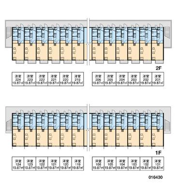 【区画図】Vingt et un