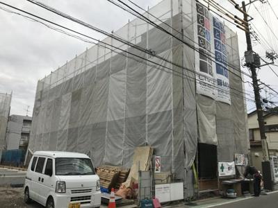 ※施工中※3階建ての新築アパート!新しいお部屋に住みたい方にオススメです♪防犯カメラ・オートロックも完備で安心のセキュリティ☆