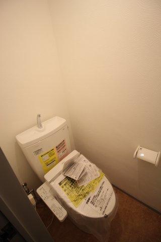 トイレも新品♪ウォシュレット付き♪